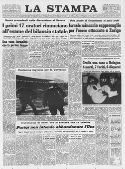 La Stampa, nº 42, 20/02/1969, p. 1