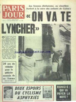 Paris Jour, n° 2936, 20/02/1969, p. 1
