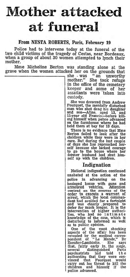 The Guardian, 20/02/1969, p. 1