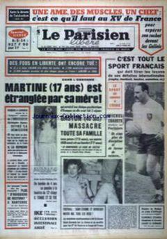 Le Parisien Libéré, nº 7616, 24/02/1969, p. 1