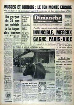 Le Journal du Dimanche, n° 1164, 16/03/1969