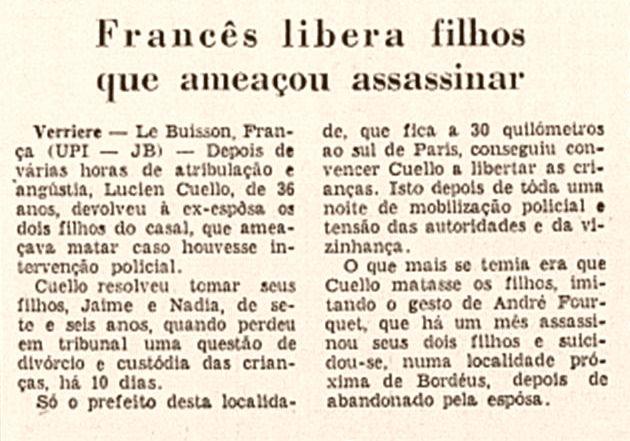 Jornal do Brasil, nº 289, 18/03/1969, p. 20