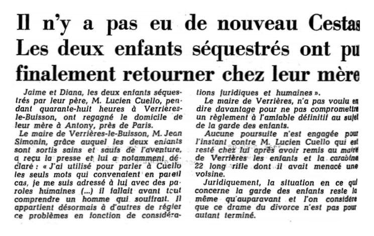 Le Confédéré quotidien, nº 64, 18/03/1969, p. 12