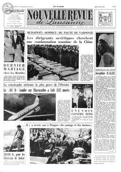 Nouvelle revue de Lausanne, nº 64, 18/03/1969, p. 1
