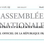 Journal officiel de la République française, nº 4AN(Q), 26 janvier 2016