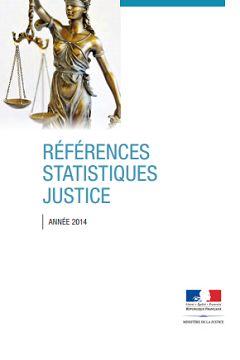 Références statistiques justice. Année 2014
