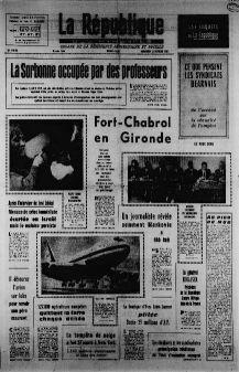 La République des Pyrénées, n° 7448, p. 1