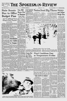 The Spokesman-Review, n° 275, 13/02/1969, p. 1