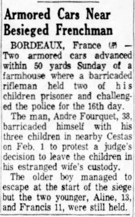 Albuquerque Journal, vol. 359, nº 48, 17 février 1969, p. A-2