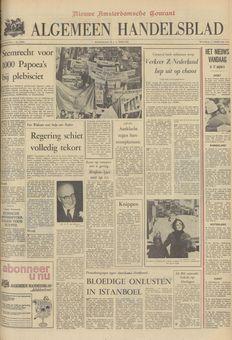 Algemeen Handelsblad, nº 45962, 17 février 1969, p. 1