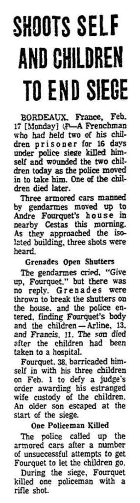 Chicago Tribune, nº 48, 17 février 1969, p. 2