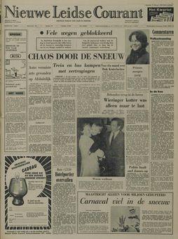 Nieuwe Leidse Courant, 17 février 1969, p. 1