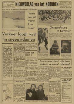 Nieuwsblad van het Noorden, nº 40, 17 février 1969, p. 1