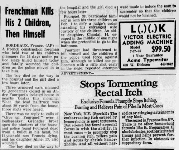 Northwest Arkansas Times, nº 209, 17 février 1969, p. 14