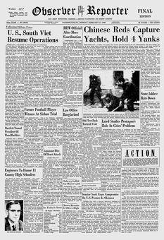 Observer-Reporter, nº 69040, 17 février 1969, p. 1