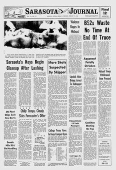 Sarasota Journal, vol. 17, nº 213, 17 février 1969, p. 1