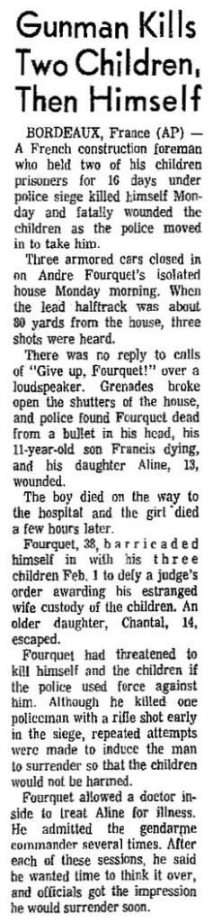 The Cedar Rapids Gazette, vol. 92, nº 39, 17 février 1969, p. 1