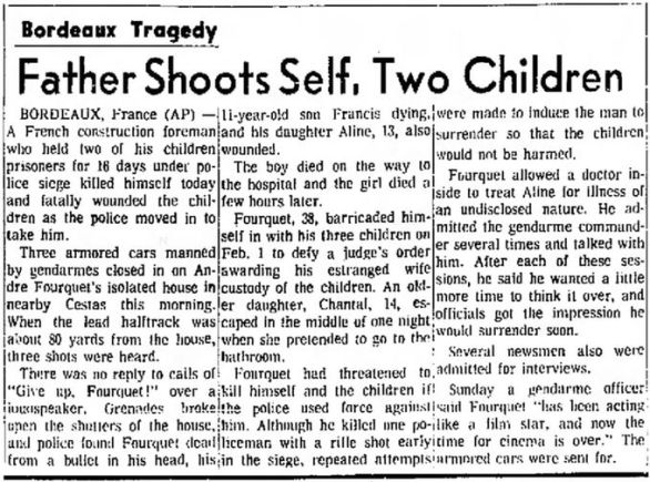 The Fresno Bee, vol. 91, nº 16692, 17 février 1969, p. 1