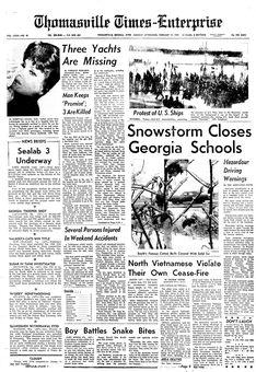 Thomasville Times-Enterprise, vol. LXXX, nº 41, 17 février 1969, p. 1