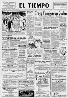 El Tiempo, nº 19989, 18/02/1969, p. 1