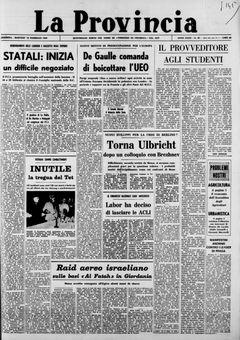 La Provincia, nº 40, 18/02/1969, p. 1