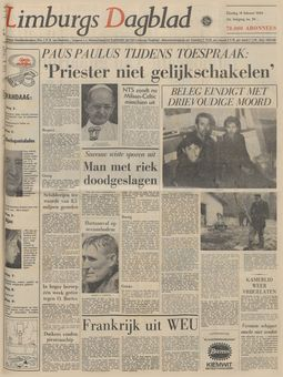 Limburgs Dagblad, nº 96, 18/02/1969, p. 1