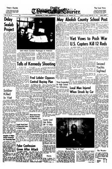 The Daily Courier, vol. 67, nº 83, 18/02/1969, p. 1