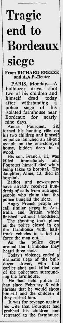 The Sydney Morning Herald, nº 40927, 18/02/1969, p. 1