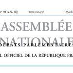 Journal officiel de la République française, édition « Débats parlementaires – Assemblée nationale », nº 40 AN (Q), 4 octobre 2016