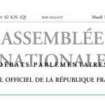 Journal officiel de la République française, édition « Débats parlementaires – Assemblée nationale », nº 42 AN (Q), 18 octobre 2016