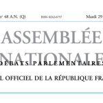 Journal officiel de la République française, édition « Débats parlementaires – Assemblée nationale », nº 48 AN (Q), 29 novembre 2016