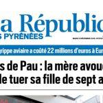La République des Pyrénées, nº 21913, 13 décembre 2016, p. 1