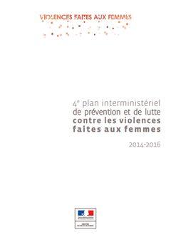 Quatrième plan interministériel de prévention et de lutte contre les violences faites aux femmes