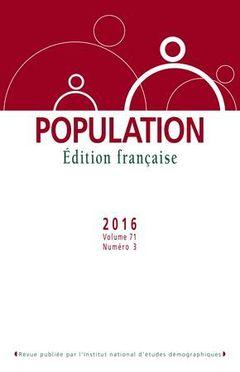 Population, Volume 71, nº 3, 2016