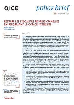 Policy Brief (Observatoire français des conjonctures économiques), nº 11, 12 janvier 2017, p. 1