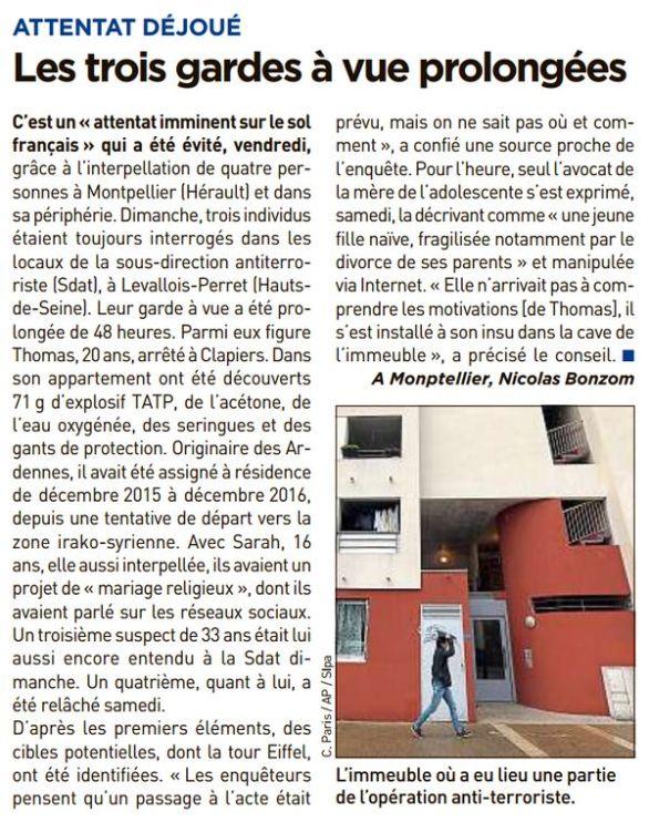 20 minutes, nº 3100, 13 février 2017, p. 6