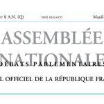 Journal officiel de la République française, édition « Débats parlementaires – Assemblée nationale », nº 8 AN (Q), 21 février 2017