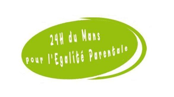 24H du Mans pour l'égalité parentale
