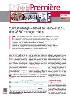 Insee Première, nº 1638, 13 mars 2017