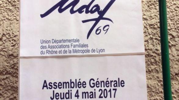 Assemblées générales de l'Union départementale des associations familiales du Rhône