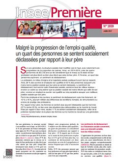 Insee Première, nº 1659, 12 juillet 2017
