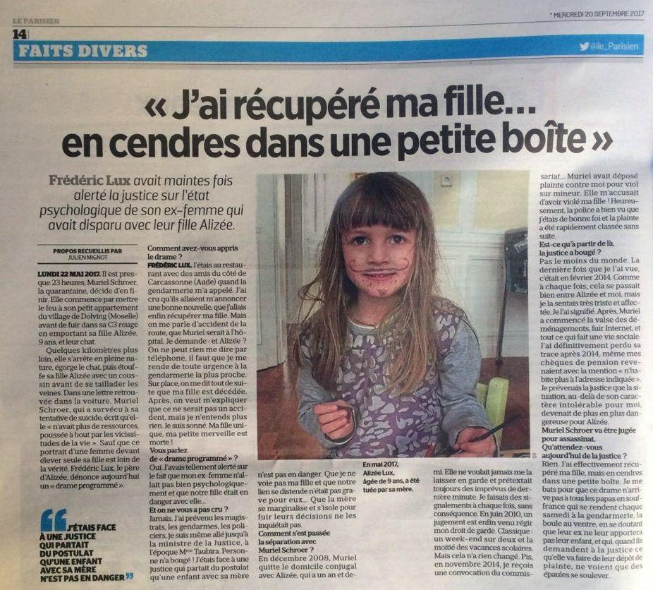 Le Parisien, 20/09/2017, p. 14