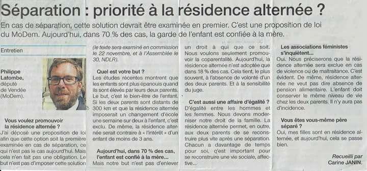 Ouest France, 11 novembre 2017