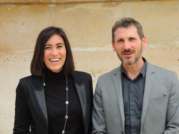 Paula Forteza et Matthieu Orphelin (© D.R.)