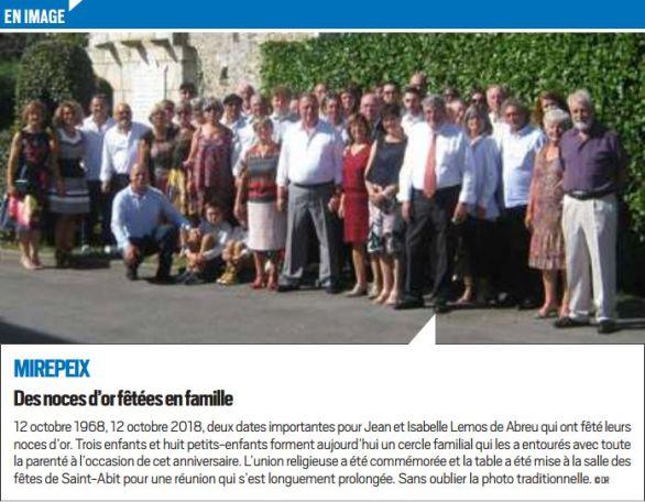 La République des Pyrénées, nº 22481, 26/10/2018, p. 16