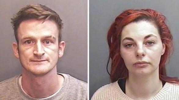 Thomas Curd et Abigail Leatherland (© Devon and Cornwall Police)