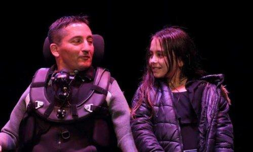 Jean-Marc Dellajuto et sa fille (© D.R.)