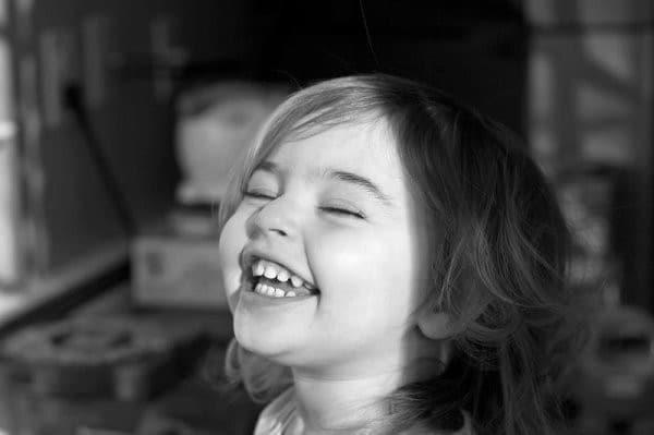 sourire d'enfant
