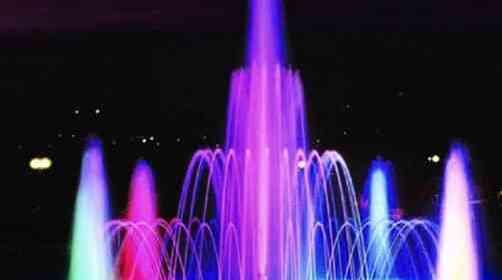 Comme une fontaine de Lumière
