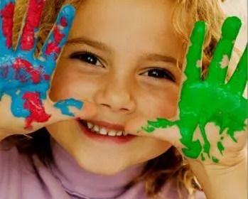 La joie de l'enfant en soi